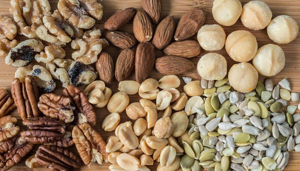 Nuts Especially Almonds